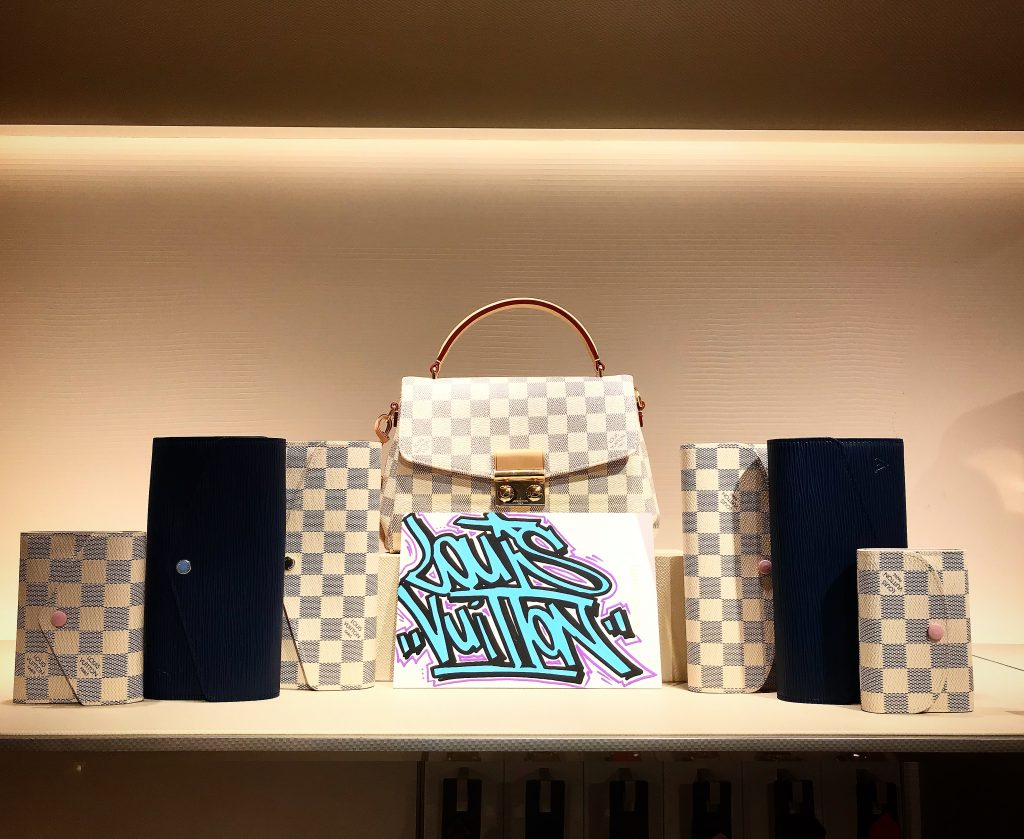 Gomor Louis Vuitton Blanc Bleu