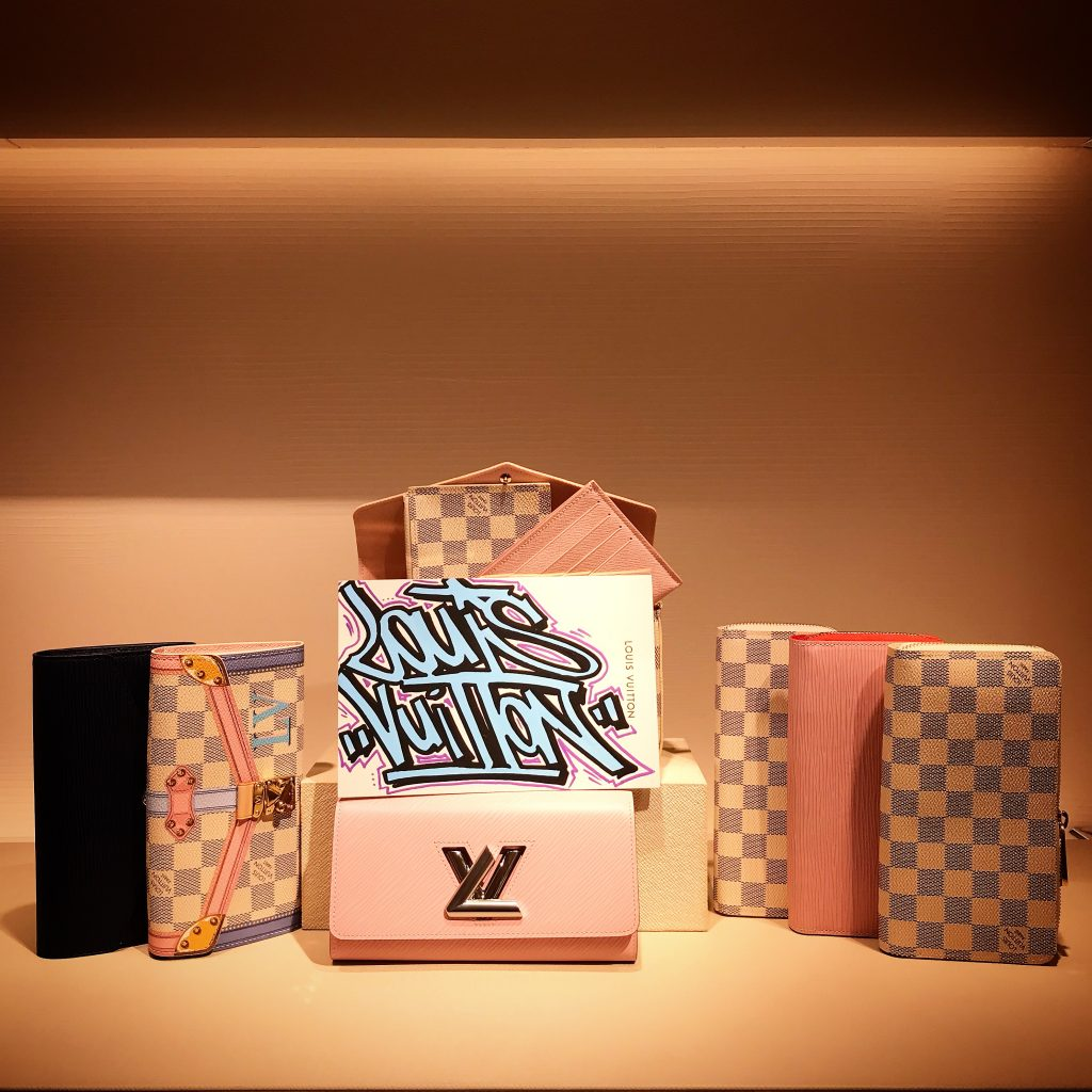 Gomor Louis Vuitton Rose Bleu