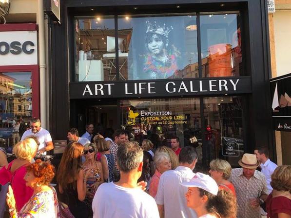 Custom your life art life galerie gomor