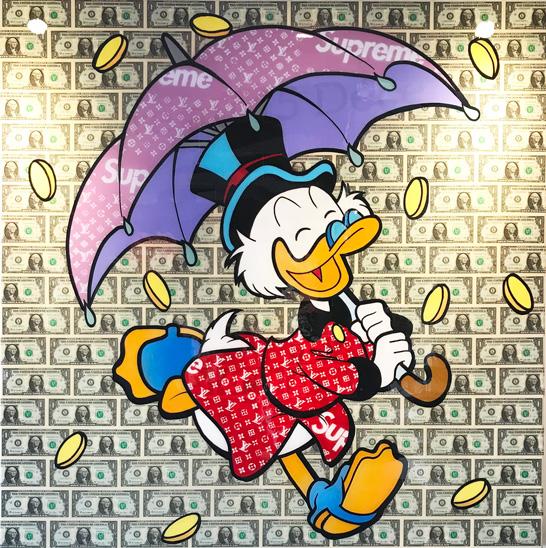 money rain de gomor 120 cm sur artsper