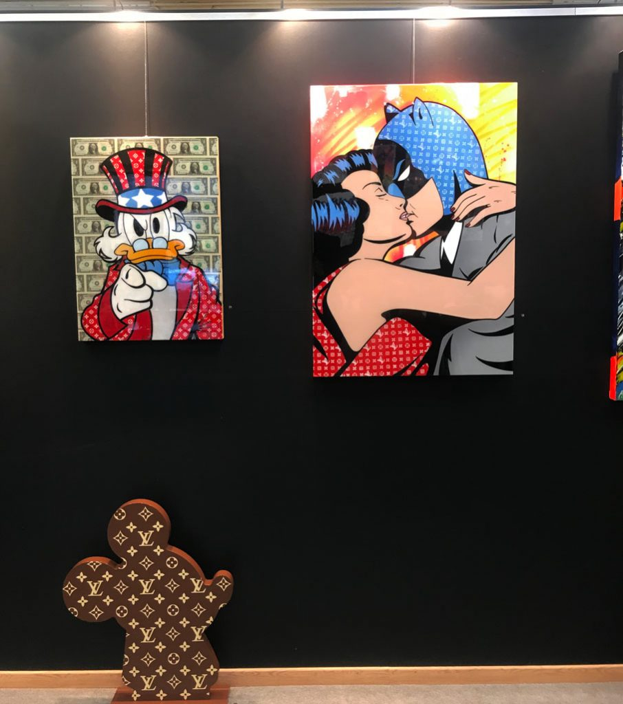 picsou batman wonder woman gomor exposition guy pensa