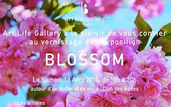 Gomor exposition blossom art life gallery vignette