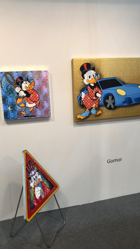 Arte-Genova-Gomor-Louis-vuitton-holograme